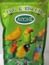 AVIONE Egg and Biscuit bird food treat supplement budgie canary baby birds 500g