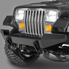 Bestop HighRock 4x4 Front Bumper 87-95 Jeep Wrangler YJ - Matte Finish