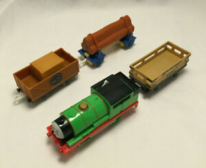 Thomas & Friends Track Master Percy Electronic Moving Train - Mattel 2009