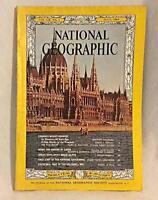 National Geographic July 1965 Mt Kennedy Costa Rica Danube Arran Grosvenor Vtg