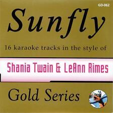 Sunfly Karaoke Gold 62 - Shania Twain & Leann Rimes (CD+G) DIRECT FROM SUNFLY