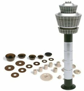 Herpa Wings Scenix Airport Control Tower Set 1/500 Scale Model 519670