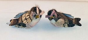 """3 OWL PICKS FOR CRAFTING - NEW & 1 OWL ACRYLIC """"STAINED""""  WINDOW HANGING (2 pics"""