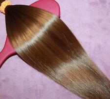 HUMAN HAIR HAIRCUT 14IN 2.0oz ULTRA BABYFINE BLONDE/BRUNETTE BLENDS PONYTAIL B80