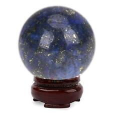 20mm NATURAL Lapis Lazuli Quartz Crystal Ball Sphere Healing Balls Decor DIY