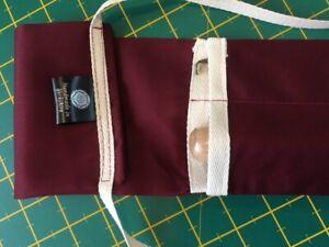 "Fly Fishing Rod Bag/Sleeve 9ft. 6"" 2 piece cloth Rod case"