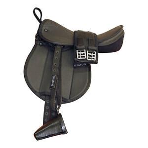 "Status Pony Pad  Mounted Black 14.5"""