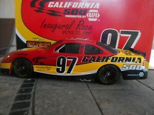 #97 Inaugural California Track Pace Car 1997 Pontiac, Revell 1/24 Bank Set