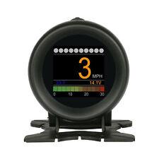 AUTOOL X60 12V Car OBD Multi-function Digital Meter Alarm Speed Water-Temp Gauge