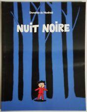 French Book - NUIT NOIRE by Dorothée de Montfreid