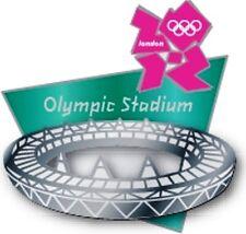 2012 London Olympic Stadium Sculpted Venue Pin