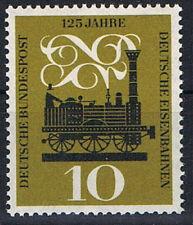345 ** BRD 1960, 125 Jahre deutsche Eisenbahn