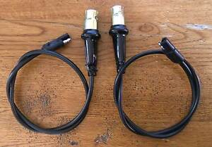 C60) 1968 Ford Mercury Cougar - Front Marker Lamp Harness (pair) right and left