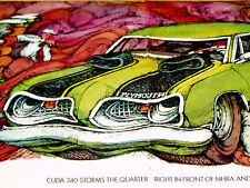 1969 Plymouth Barracuda Original Ad-Formula S/340 V8 engine/door/hood/bumper/3 83