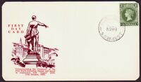 1955 SOUTH AUSTRALIA CENTENARY WESLEY FIRST DAY CARD UNADDRESSED CMV$65 (PS4176)