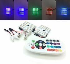 2 pcs INTERIOR 36 SMD LED BOARD STROBE lights remote  DACIA 2016