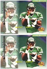 2x SCORE BOARD 1996 KEYSHAWN JOHNSON NFL NEW YORK JETS SUPERSTAR MINT #26 LOT