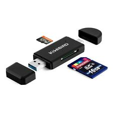 Kiwibird USB 3.1 Type C & USB 3.0 Card Reader 8-in-1 for SD, TF, micro SD