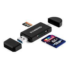 KiWiBiRD USB-C 3.1 & USB 3.0 Card Reader 8-in-1 for SD, TF, Micro SD