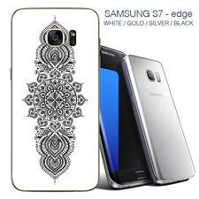 Mandala Samsung 7 Borde Piel Posterior-Adhesivos Para Samsung 7/Samsung 7 Edge Edge