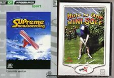 Supreme Snowboarding & hole in one mini golf  new&sealed