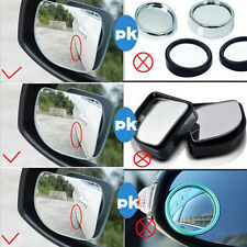 Car HD Convex Rearview Mirror Blind Spot Side Rear View Wide Angle Adjustable