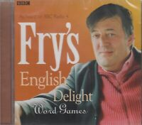 Fry's English Delight Stephen Word Games CD Audio NEW* BBC Radio 4 Language
