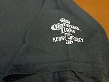2012 Kenny Chesney Concert T Shirt Corona Light Tee Large Y5