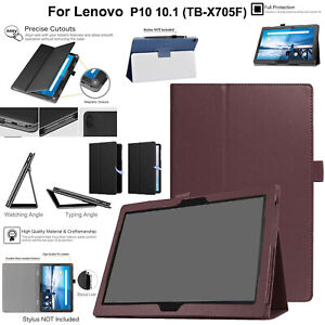 For Lenovo Tab M10 TB-X605F X505F Case Leather Magnetic Stand Book Smart Cover