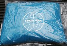 Pan Am Airlines Beach Pool Towel Mat Bag, Beach Blanket, Vtg Travel Tote Bag NOS