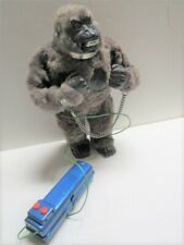 Vintage The Mighty Kong Marx Remote Battery Op King Kong Nm-M In Box Works Well