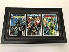 Changeable 3 Comic Frame. Safe Secure Way To Display Comics (Books Not Included)