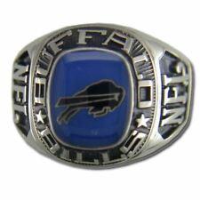 Buffalo Bills Large Classic Silvertone Ring