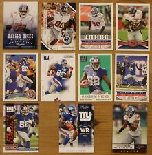 Hakeem Nicks - 11 card lot - Topps, Score, Rookies & Stars, Absolute, all diff