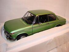 1/18 BMW 2002tii, Edition L, kyosho, avec NEUF dans sa boîte, RAR, grünmetallic