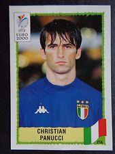 ☆ Panini Euro 2000 - Italy / Italia Christian Panucci  #168