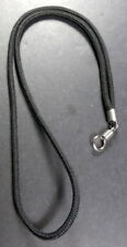 Thai BLACK cord necklace for 1 Buddha Amulet / Pendant  28 inches long.