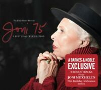 Joni Mitchell 75 A Live Birthday Celebration Va Artists CD deluxe 2 bonus tracks