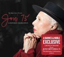 Joni Mitchell 75 A Live Birthday Celebration Va Artists deluxe CD w/2bonustracks