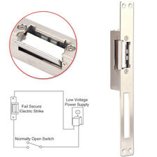 Electric Strike Door Lock 12V NO Fail Secure Long Narrow-type European Style