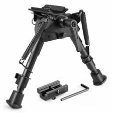 Twod Rifle Bipod 6-9 Inch Adjustable Spring Return Picatinny & Swivel-Stud Snipe