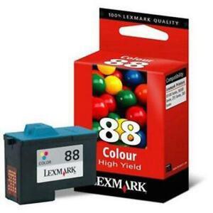 GENUINE LEXMARK 88 COLOUR INK CARTRIDGE LEXMARK 18L0000E