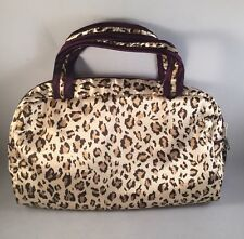 Butterfly Set Of 2 Animal Print Cosmetic Bag Makeup Organizer Jewelry Travel Bag