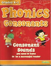 Grades K-1 Phonics and Consonants workbook. Sounds You Need To Know To Be A Read