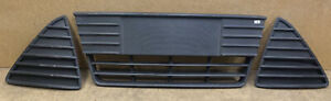 2012-2014 Ford Focus Front Lower Bumper Center Grille Cover Set Left Right