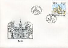 Czech Rep 2017 FDC Frydlant Castle Europa Castles 1v Cover Architecture Stamps