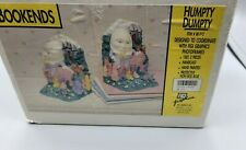 Humpty Dumpty Bookends Sitting On The Wall Figurines Or Nursery Rhyme Decor