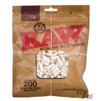 Raw Filter Tips Slim 200's Bag