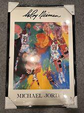 Michael Jordan Chicago Bulls Rare Leroy Neiman Print/Poster Created In 1991