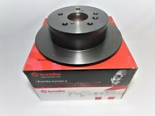 FACTORY FRONT 43512-24051 BREMBO ROTORS W/GENUINE TOYOTA BRAKE PADS 04465-22312